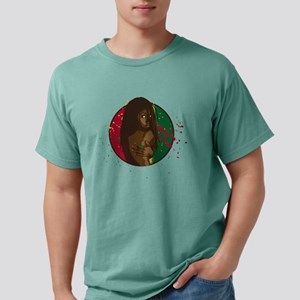 Rasta Girl Mens Comfort Colors Shirt