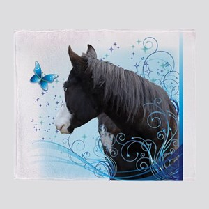 Steed Two Throw Blanket