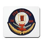 USS DELONG Mousepad