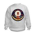 USS DELONG Kids Sweatshirt