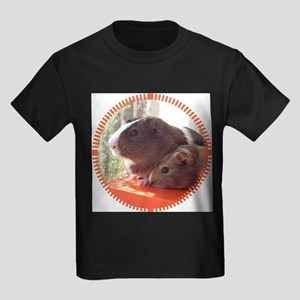 2 Guinea Pigs Kids Dark T-Shirt