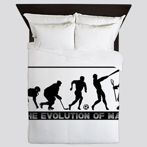 lacrosse evolution Queen Duvet