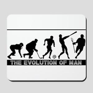 lacrosse evolution Mousepad