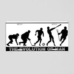 lacrosse evolution Aluminum License Plate