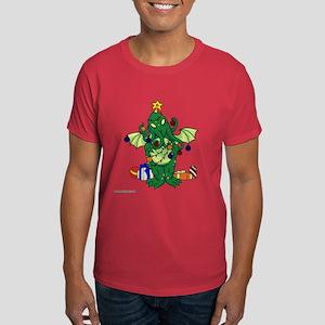 Christmas Cthulhu Dark T-Shirt