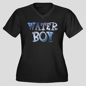 Water Boy Waterboy Women's Plus Size V-Neck Dark T