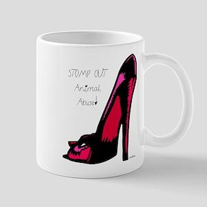 STOMP OUT Animal Abuse! Mug