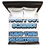 I Dont Get Scared 1 King Duvet