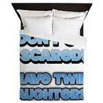 I Dont Get Scared 1 Queen Duvet