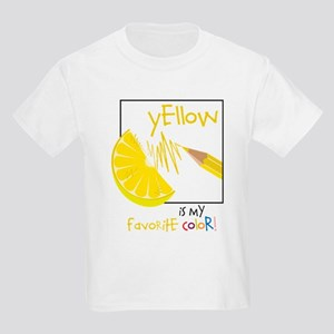 My Favorite Color Kids Light T-Shirt