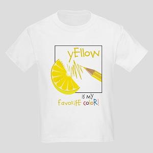 My Favorite Color Kids Light T-Shirt