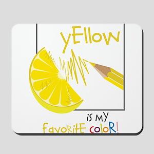 My Favorite Color Mousepad