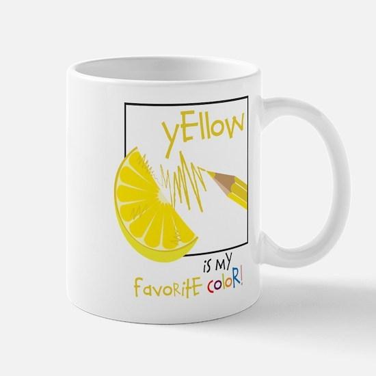 My Favorite Color Mug