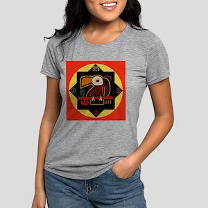 molaclock4 Womens Tri-blend T-Shirt