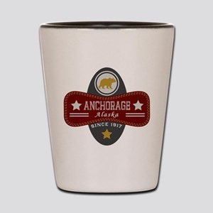 Anchorage Nature Marquis Shot Glass