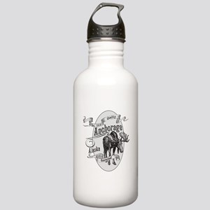 Anchorage Vintage Moose Stainless Water Bottle 1.0