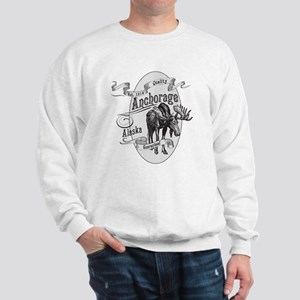 Anchorage Vintage Moose Sweatshirt
