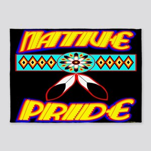 NATIVE PRIDE 5'x7'Area Rug