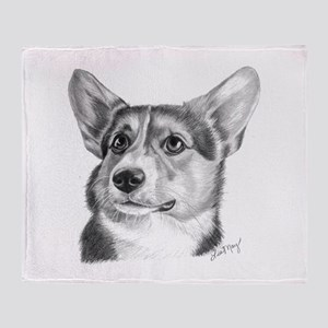 Corgi Throw Blanket