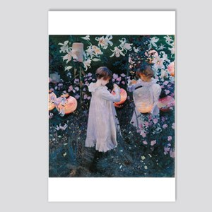 Sargent Carnation Lily Lily Rose Postcards (Packag