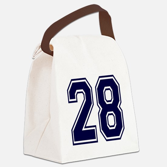 blue28.png Canvas Lunch Bag