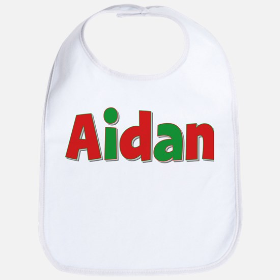 Aidan Christmas Bib