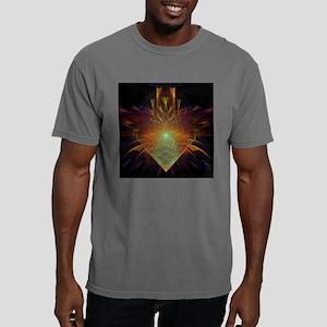 tattered heart Mens Comfort Colors Shirt