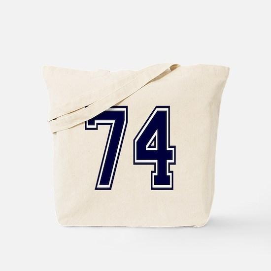 Unique 74 Tote Bag