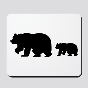 Bear Migration Icon Mousepad