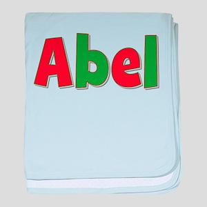 Abel Christmas baby blanket