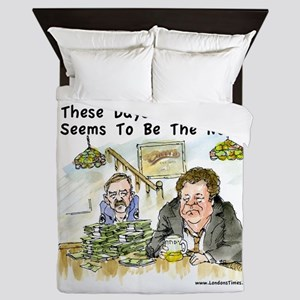 Fiscal Cliff Is The Norm Queen Duvet