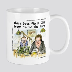 Fiscal Cliff Is The Norm Mug