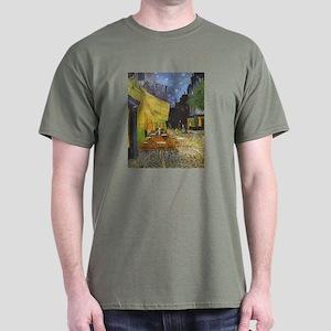 van Gogh Cafe Terrace at Night Dark T-Shirt