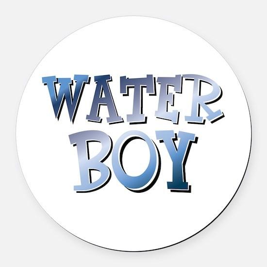 Water Boy Waterboy Round Car Magnet