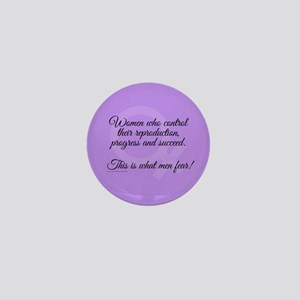 Women Succeed Mini Button