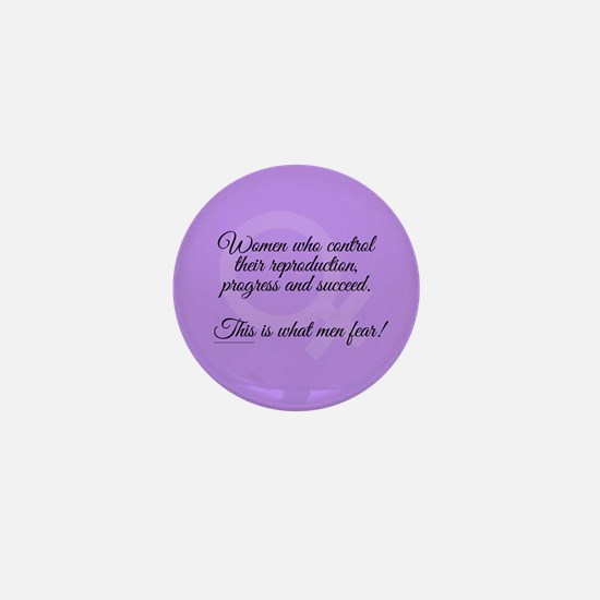 Women Succeed Mini Button