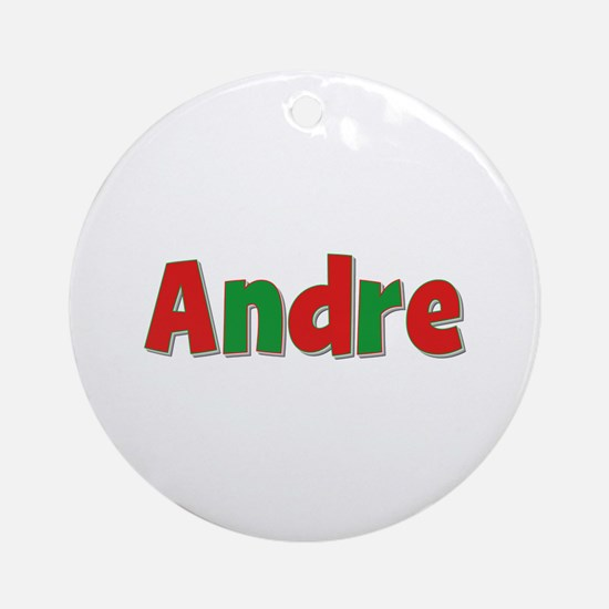 Andre Christmas Round Ornament