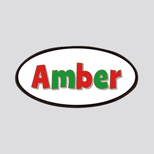 Amber Christmas Patch