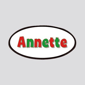 Annette Christmas Patch