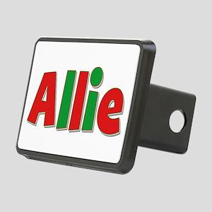 Allie Christmas Rectangular Hitch Cover