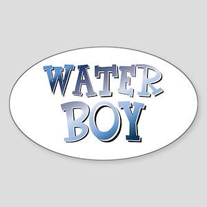Water Boy Waterboy Sticker (Oval)