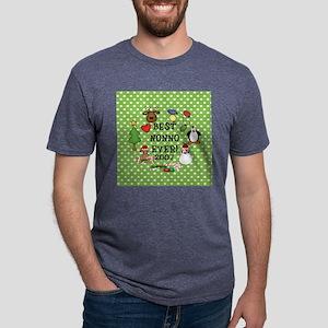 AO BEST NONNO2 Mens Tri-blend T-Shirt