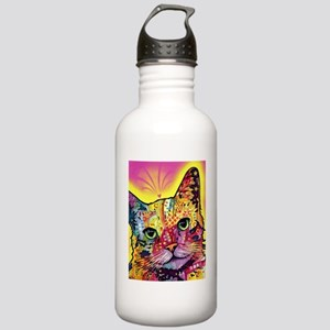 Psychadelic Cat Stainless Water Bottle 1.0L