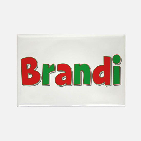 Brandi Christmas Rectangle Magnet