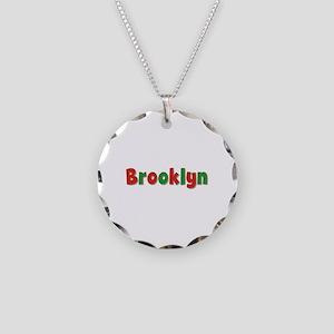 Brooklyn Christmas Necklace Circle Charm