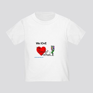 We Love The Sinclair Method Toddler T-Shirt