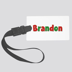 Brandon Christmas Large Luggage Tag