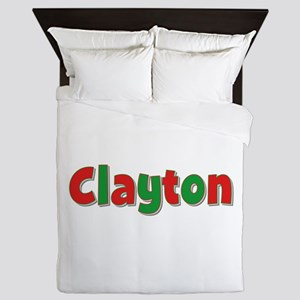 Clayton Christmas Queen Duvet