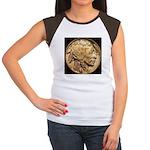 Nickel Indian-Buffalo Women's Cap Sleeve T-Shirt