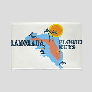 Islamorada - Map Design. Magnets